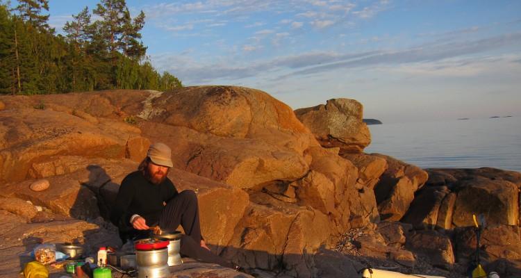 Matlagning gasolkök Höga kusten