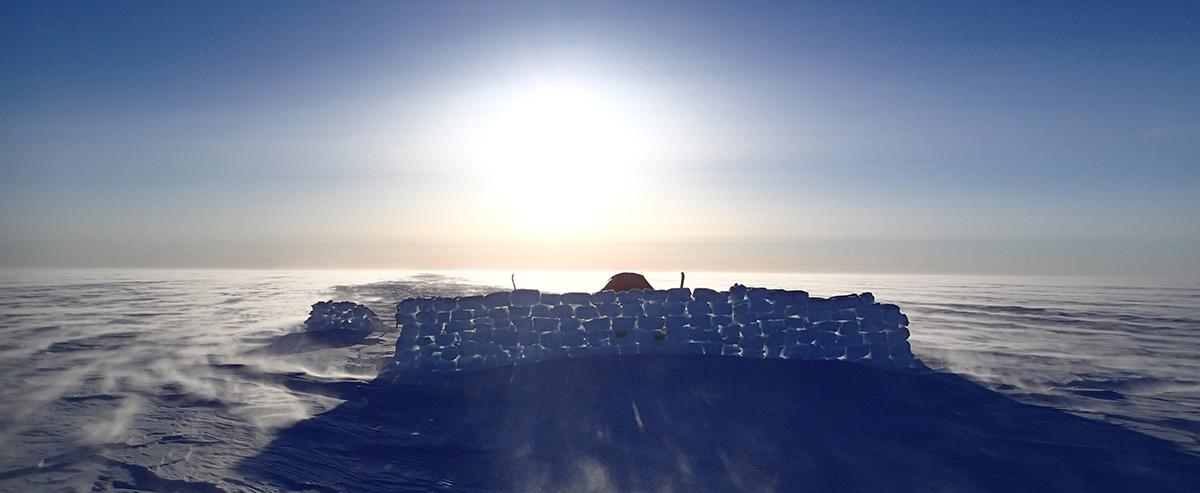 Kite över Grönland Davidsson