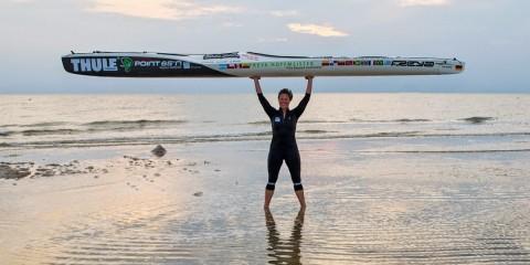 Freya Hoffmeister har paddlat runt Sydamerika