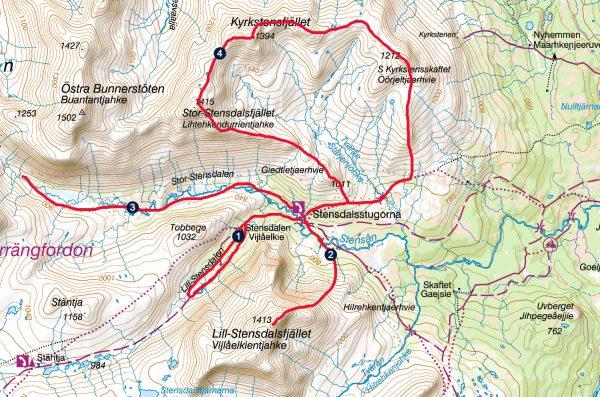 stensdalen karta