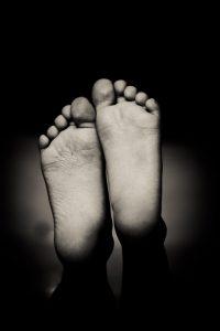 på fötterna i fjällen